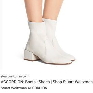Stuart Weitzman Accordion Boot - Size 36.5